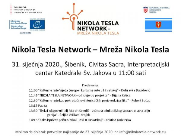 "[""Nikola Tesla Network - Mreža Nikola Tesla"" project education in Šibenik]"
