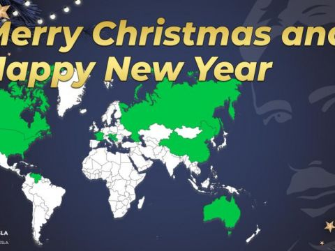 Nikola Tesla Network - Merry Christmas and Happy New Year