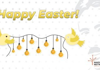 Nikola Tesla Network - Happy Easter
