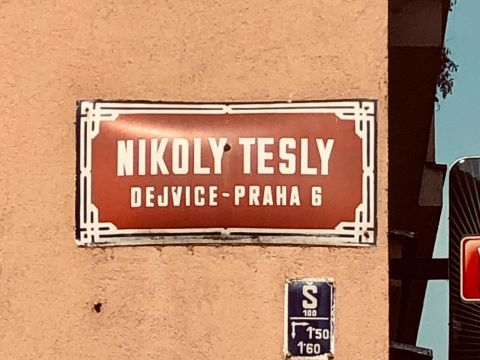 Nikola Tesla Network - Streets with Nikola Tesla name